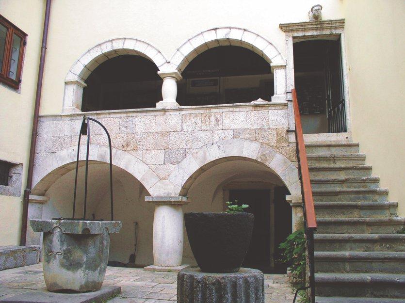 Renesansno pročelje Gradskog muzeja Senj